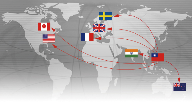 CHERNG YI HSING PLASTIC PLATING FACTORY CO。、LTD。ワールドワイドマーケット